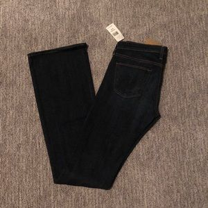 NWT 27 AG boot cut jeans